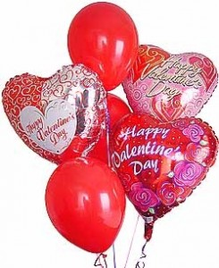 VALENTINE'S DAY BALLOONS-CALL FOR PRICING
