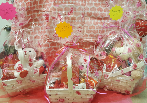 Valentine's Day Baskets Add-On in Croton On Hudson, NY | Cooke's Little Shoppe Of Flowers