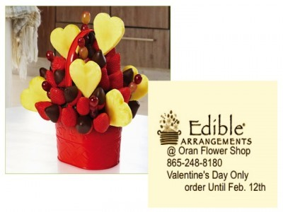 valentine's day bouquet edible arrangement in kingston, tn, Ideas