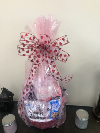 Valentine's Day Breakfast  Gift Basket
