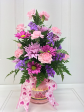Valentine's Day Candle Bouquet