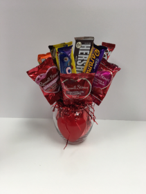Valentine's Day Candy Bouquet Candy Bouquet