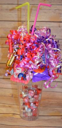 Valentine's Day Candy Sundae