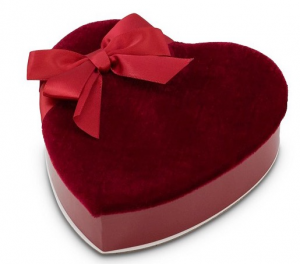 Valentine's Day Chocolates  1/2 lb. heart-shaped box (Add-On) in Northport, NY | Hengstenberg's Florist