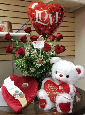 Valentine's Day Complete Package! Gift package in San Antonio, TX   Bloomshop