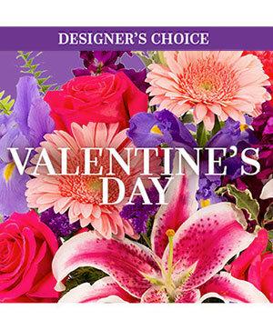 Valentine's Day Custom Arrangement in Magnolia, TX | ANTIQUE ROSE FLORIST