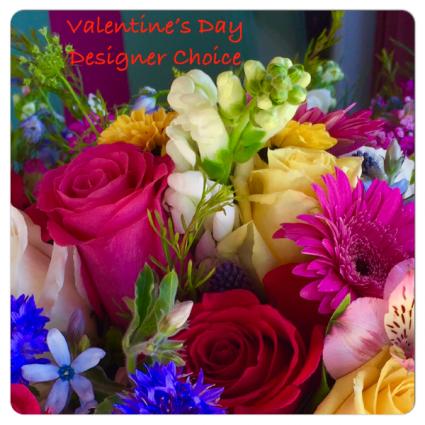 Valentine's Day Designer's choice Vase Arrangement