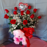 Valentine's Day Dozen Roses Special