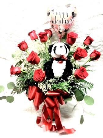 Duryea's Dozen Roses Special for Valentine's Day