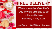 Valentine's Day - Early Delivery Special
