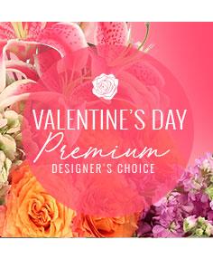 Valentine's Day Florals Premium Designer's Choice