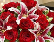 Valentine's Day Florist Design  Valentine's Day Mixed Arrangement