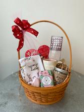 Valentine's Day Goodies Gift Basket