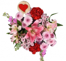Valentine's Day Mix 1 Bouquet