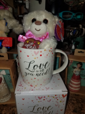 Valentines Day Mug Love is all you need!