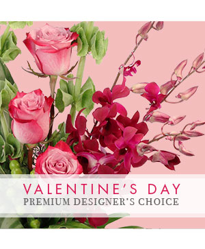 Valentine's Day Premium Designer's Choice in Madison, AL | RABBIT'S NEST FLORIST AND GIFTS