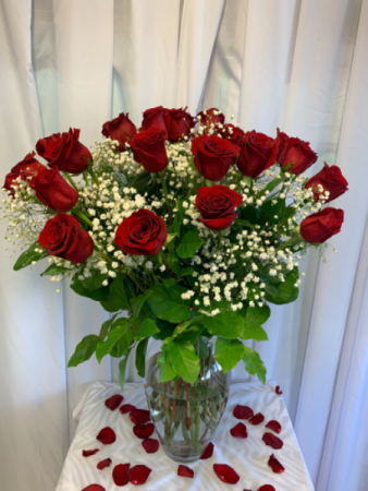 Valentines Day Red Roses Classic Red Roses