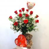 Valentine's Day Rose Combo