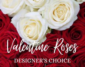 Valentine's Day Roses Designer's Choice One Dozen in Huntington, TX | LIZA'S GARDEN