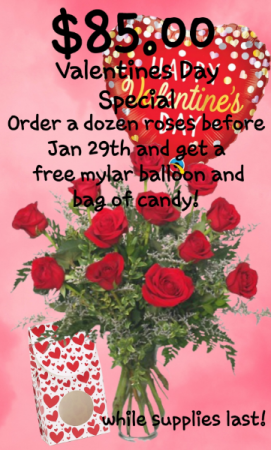 Valentines Day Special  in Bryson City, NC | Village Florist