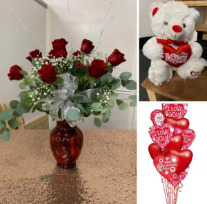 Valentines day special  Valentine  in Bakersfield, CA | Cherry Blossom Bouquets