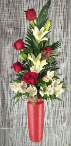Valentine's Day Spectacular Floral arrangement
