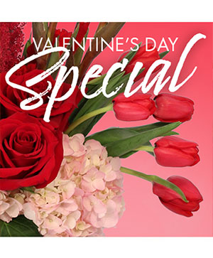 Valentine's Day Weekly Special in Bloomington, IN | MARY M'S WALNUT HOUSE FLOWERS AND GIFTS