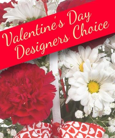 Valentine's Designers Choice Fresh Arrangement