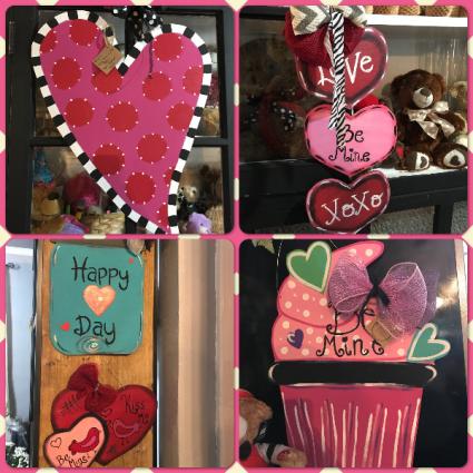 Valentine's Door Hangers Valentine's Day