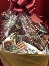 Valentine's For Him Texas Basket Gift Basket