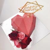 Valentine's Hand Make Fresh Cake PRE-ORDER 3 DAYS ADVANCE