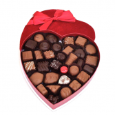 Vande Walle's Valentine's Heart 1 lb chocolates  Chocolates