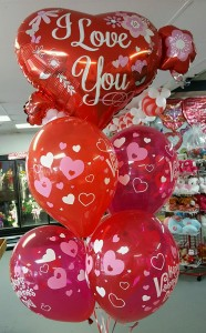 VALENTINES LOVE BOUQUET Balloons