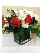 Valentine's Love  Oasis in Vase