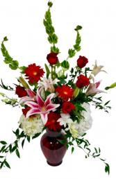 Premium  Valentine's Mix Vase arrangement