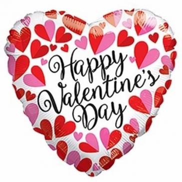 Valentine's Mylar Ballon Valentine's Day