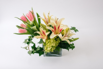 Harper Fragrant lilies Tulips and Hydrangea