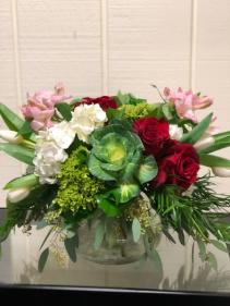Valentines Posie Vase Vase