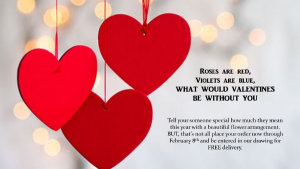 VALENTINES PREORDER DRAWING  in Canton, GA | Chambers Florist & Gifts
