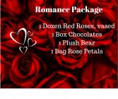Valentines Romance Package Valentine's Day
