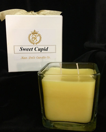 Valentine's Scented Candle  Angel Wings