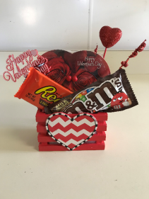 Valentine's Small Basket 2 Holiday Gift