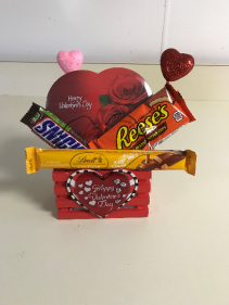 Valentine's Small Basket Holiday Gift