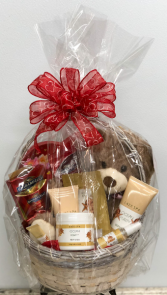 Valentine's Spa and Chocolate  Gift Basket