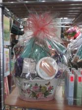 Valentine's Spa Basket Valentine's Day