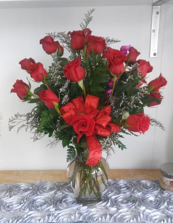 Valentine's Special 2 Dozen Red Roses