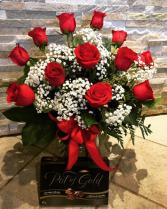 Valentine's Special Roses & Chocolate
