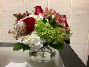Be My Valentine Vase Arrangement in Fairfield, CT | Blossoms at Dailey's Flower Shop
