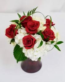 Valentine's Special  Vase arrangement