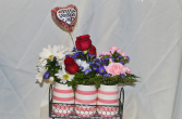 Valentines Trio Vases